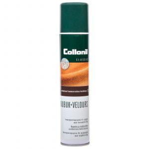 Collonil Nubuk+Velours Spray Tummanruskea