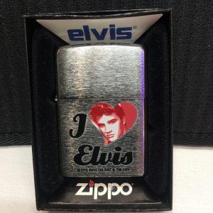Zippo I love Elvis